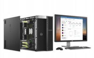 DELL-PRECISION-T7810-XEON-E5-8x3-2-32GB-SSD-K4200-Waga-produktu-5-kg